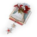 Christmas Bell Wall Decor by Debi Adams