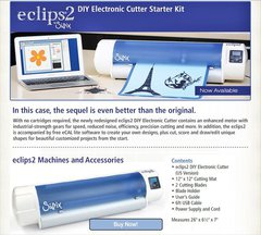 Sizzix Eclips2 Digital DIY Cutter