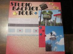 Studio Backlot Tour Page 1