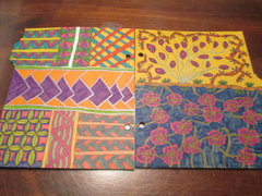 Zentangle Snap Book Divider Pages Set 3