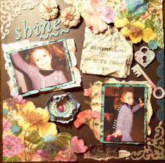 SHINE ~ **SCRAPS OF DARKNESS** February Kit ~ Victoriana