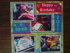 Happy Birthday Louis 2011