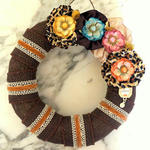 Burlap Wreath **May Arts**