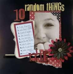 10 Random Things