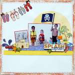 Crazy Splash Captain ~My Creative Scrapbook~