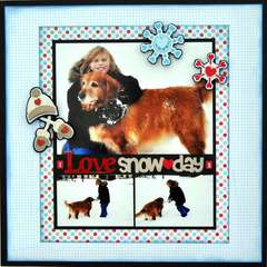 I love Snowdays ~My Creative Scrapbook~