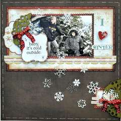 I love Winter ~My Creative Scrapbook~