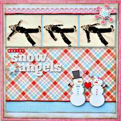 Making Snow Angels ~My Creative Scrapbook~