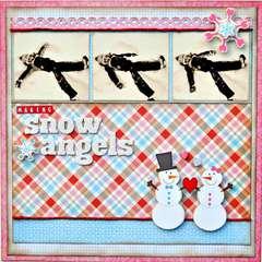 Making Snow Angels ~My Creative Scrapbook~
