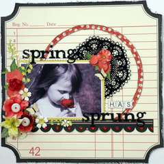 Spring Has Sprung ~My Creative Scrapbook~