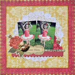 Summer Blooms ~My Creative Scrapbook~