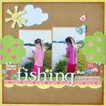 Summer Fishing Adventures ~My Creative Scrapbook~