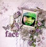 Sweet Face- Ces't Magnifique April Kit