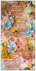 Inspirational Canvas- C'est Magnifique May Kit