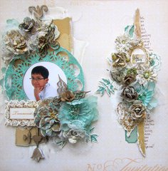 Treasured- C'est Magnifique May Kit- Sketch