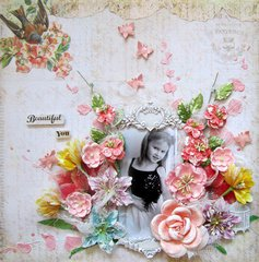 Beautiful You- Scrap for Help May Challenge
