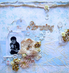 Stunning- Scraps of Elegance September Kit