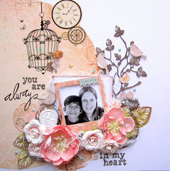 You are always in my heart- 2 Crafty DT