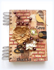 Blue Fern Studios- Love & Thanks Journal