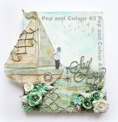 Sail Away Canvas- Pop and Colors #3