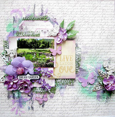 Dream Garden- Flying Unicorn August Kit