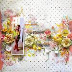Flower Power- Cigar Box secrets and Finnabair Art Mediums