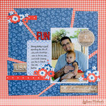4th of July Fun *Pebbles Inc Americana*