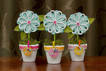 Flower Pot Thank You's  ***Pebbles DT***