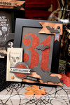 Halloween Altered Frames