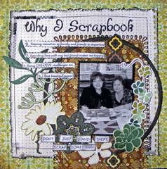 Why I Scrapbook for National Scrapbook Day at Scrapbook.com