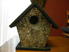 Decorative Birdhouse, front