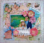 FORGET ME NOT **SCRAPS OF ELEGANCE** LO #4