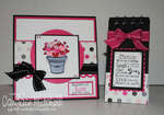 Valentine's Card and Notepad Set