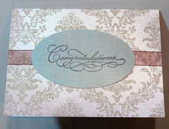 Wedding/Formal Card