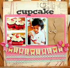 Cupcake love *Jan HIP2BSQUARE Kit*