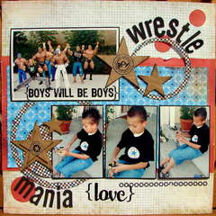 Wrestle mania love