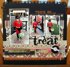 *October Hip2bsquare kit* Trick or treat