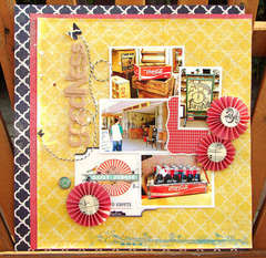 Vintage goodness *Hip2bsquare March Kit*