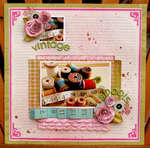 Vintage spools *Hip 2b Square September Kit*