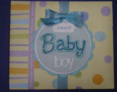 Front cover to baby book