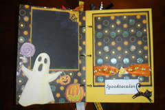 Pages to Halloween Mini