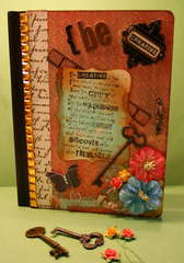 Altered Notebook   BE CREATIVE