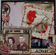 I'll Be Loving You Always **March Swirlydoo Kit**