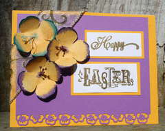 Happy Easter * Pansy glimmer mist tutorial*