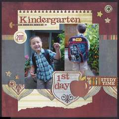 Kindergarten - 1st day