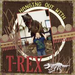 Hanging Out With T-Rex