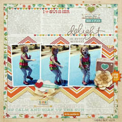 Delight in the Moment - My Creative Scrapbook