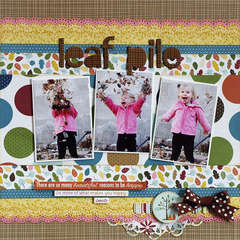Leaf Pile (Right) - My Creative Scrapbook