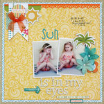 Sun is in My Eyes - My Creative Scrapbook