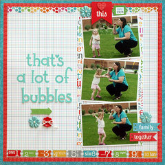 That's a lot of Bubbles - My Creative Scrapbook
